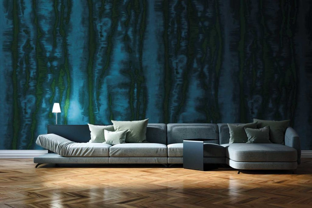 Altfield at Design Centre, Chelsea Harbour produces beautiful textiles, wallcoverings and leather