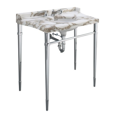 'Tuxedo' console by Kallista at West One Bathrooms
