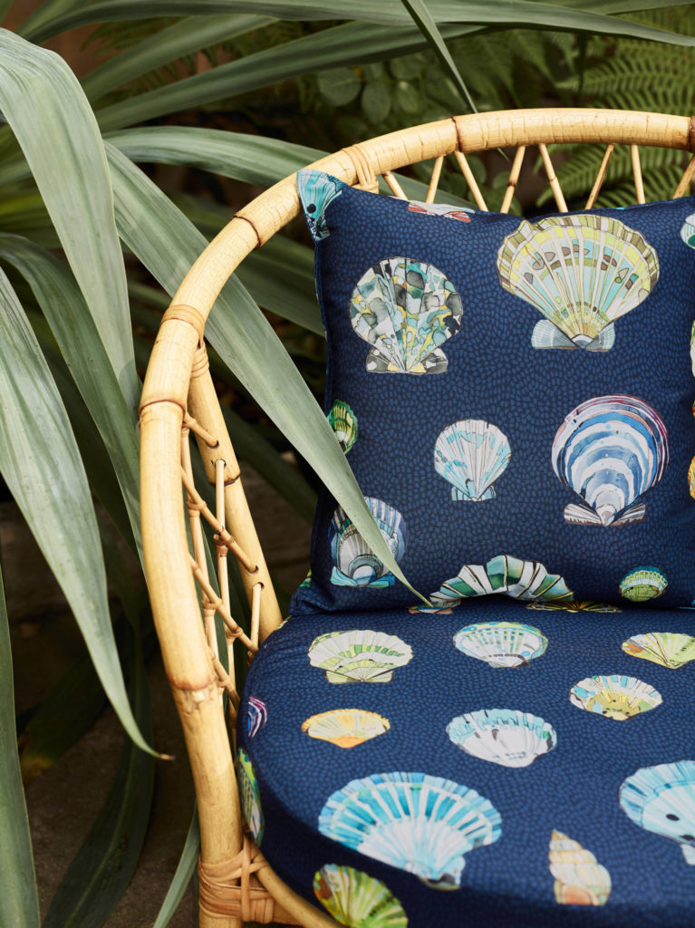 'Bali' fabric, Manuel Canovas at Colefax and Fowler