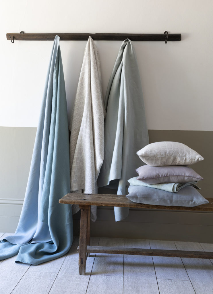 Selection of fabrics from the Elements collection, Studio by Marvic at Marvic Textiles