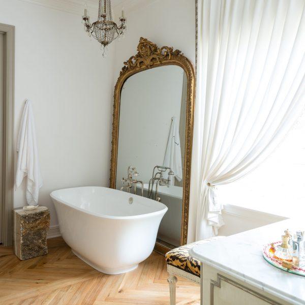 'Amiata' bath, Victoria + Albert Baths (scheme by M James Design Group)
