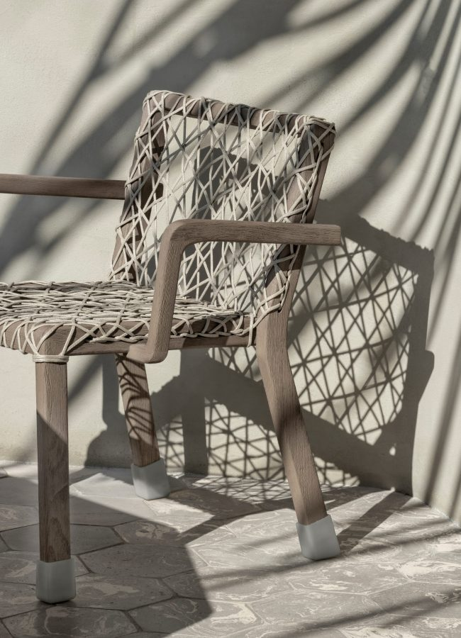 'Rafael'dining chair, Paola Navone and Ethimo