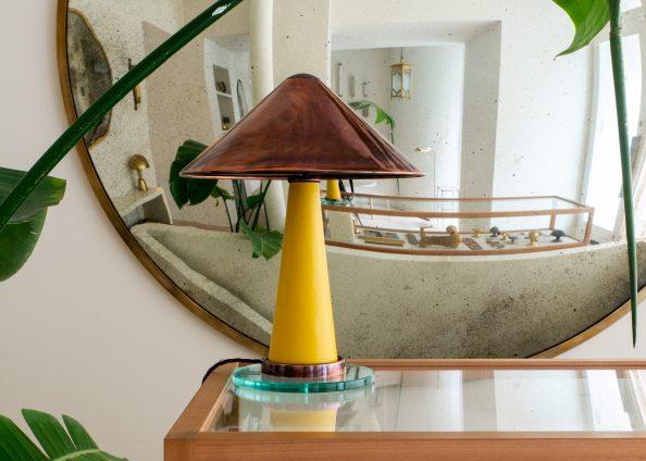 'Shitake' lamp, Collier Webb