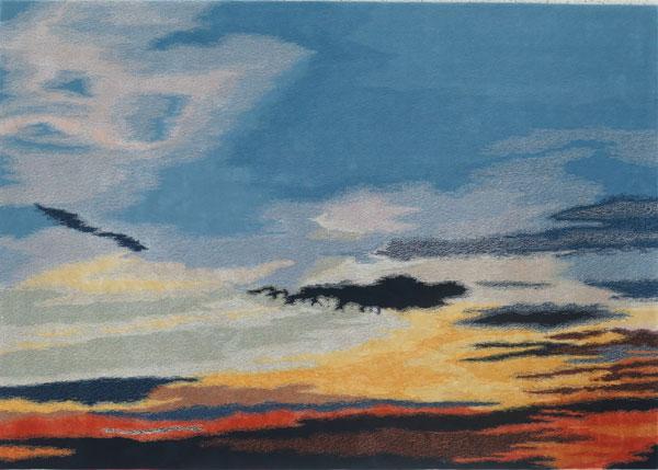 Top Floor 'Sunset' rug