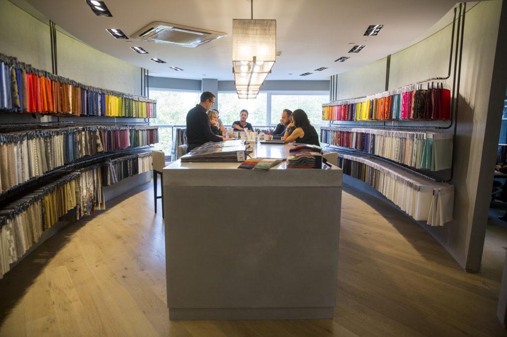 Abbott & Boyd showroom at Design Centre, Chelsea Harbour