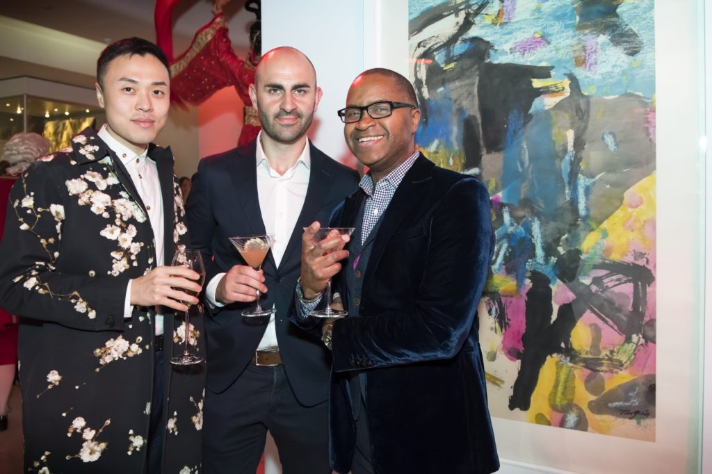 East Meets West launch party