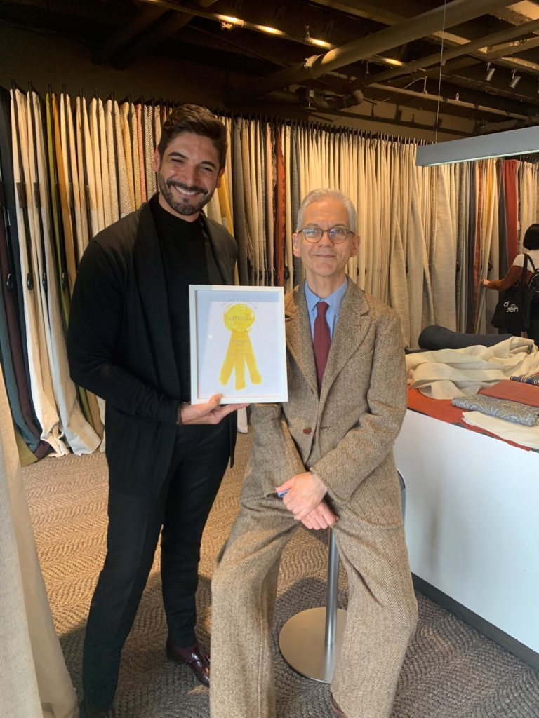 de Le Cuona wins The World of Interiors Showstopper Award at London Design Week 2020 at DCCH