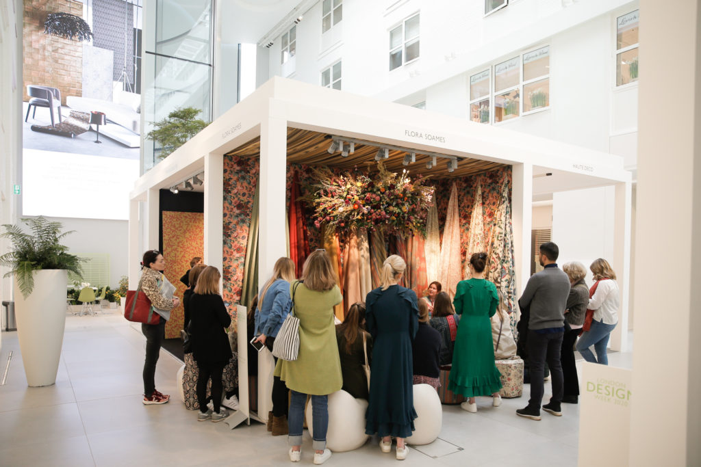 House Guest Flora Soames - London Design Week 2020 at DCCH