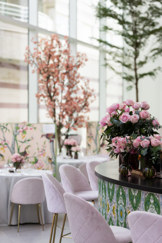 FT How to Spend It Restaurant - London Design Week 2020 at DCCH